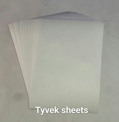 (DuPont Tyvek 55gm A4 - Pack of 20 Sheets (8.3