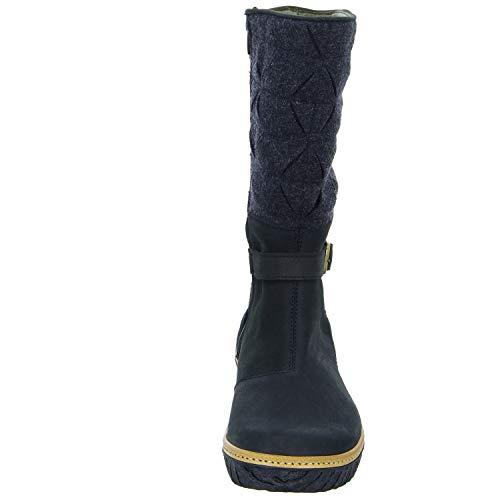 Naturalista Women's Boots El Black N5138 Snow 5vCAdxwqnd