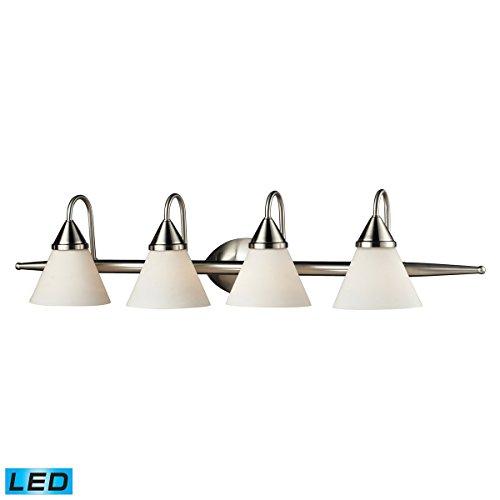 - Elk Lighting 84058/4-LED Vanity Light Satin Nickel
