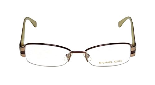 Michael Kors Eyeglasses MK438 234 Light Brown Demo 52 17 135