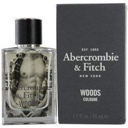 ABERCROMBIE & FITCH WOODS by Abercrombie & Fitch COLOGNE SPRAY 1.7 OZ for MEN (Woods Abercrombie And Fitch)