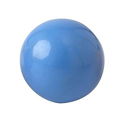 Balle à grain remplissable en PVC 70 mm, de couleur Bleu
