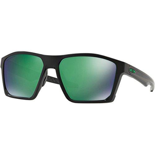 Oakley Men's Targetline Polarized Sunglasses,OS,Matte Black/Prizm Jade - Oakley Suglasses