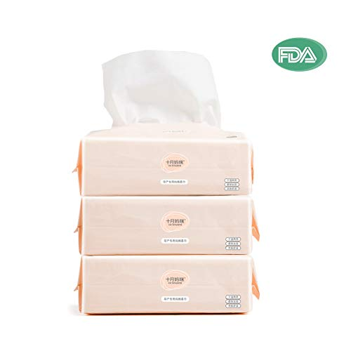 - Dry Baby Wipes Octmami Soft Dry Cotton Wipes Baby Tissue Cotton for Sensitive Skin Portable 3 Packs 300 Count