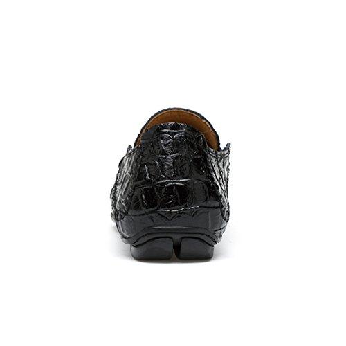 Minitoo LHUS-LH1708A, Mocassins Pour Homme - Noir - Noir, 39 EU