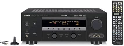 Yamaha HTR-5890 7.1-Channel A V Surround Receiver Black Discontinued by Manufacturer
