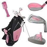 Kyпить Golf Girl Junior Set for Ages 4-8 w/Pink Stand Bag RH на Amazon.com