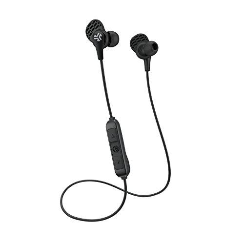 JLab Audio JBuds PRO Bluetooth Wireless Earbuds - Black - Titanium 10mm Drivers 6 Hour Battery Life Bluetooth 4.1 Extra Gel Tips and Cush Fins