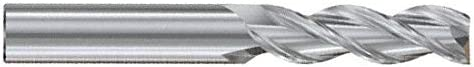 1//4 x 1//4 x 1-1//4 x 3-1//4 Alu-Pwr 3FL Coated Carbide End Mill JAG95904