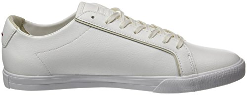 ATL Entrenadores Leather Sportif para Feret Blanco COQ White Turtle Bajos Hombre Le Optical qCZSwBnx