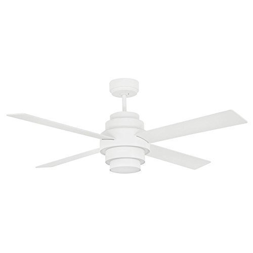 White ceiling fan with light DISC