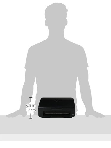 Brother ImageCenter ADS-2000 High Speed Document Scanner, Black