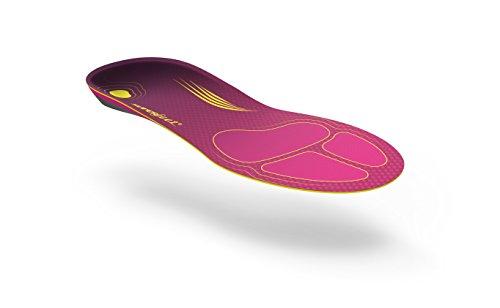 Superfeet Women's Run Comfort Insole, Plum, C: 6.5-8 US Womens by Superfeet