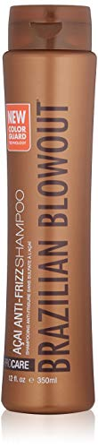 Smoothing System 1 Shampoo - Brazilian Blowout Acai anti-frizz shampoo, 12 Fl Oz