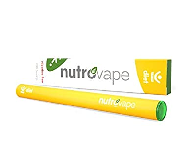 Nutrovape | World's 1st Diet Inhaler | Hunger Suppressant, Promotes Healthy Weight loss | Diet Pill Alternative | All Natural Hoodia Gordonni, Garcinia Gambogia, Green Tea Extract