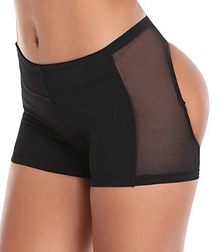LANFEI Womens Butt Lifter Panties Shapewear Boy Shorts Enhancer Shaper Panty