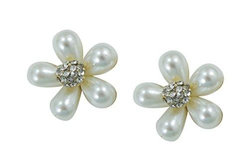 Bridal Wedding white Imitation Pearl Flower (Omaha Bridal Shops)