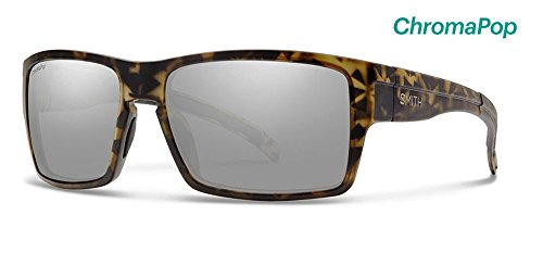 Smith Outlier XL Sunglasses Matte Camo with ChromaPop Polarized Platinum - Camo Oakleys Polarized