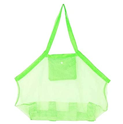 Home Storage & Organization Extra Large Capacity Sand Free Mesh Bag Childrens Beach Toy Storage Bag Swimming Bag Perfect For Holding Children Toys A Great Variety Of Models