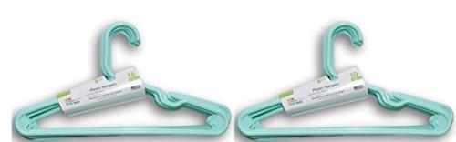 Mainstays 20 piece Children's Hanger, Spearmint by Mainstay