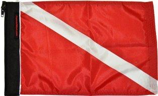 Forever Wave Diver Down Novelty Flag