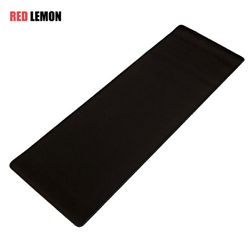 31ZWbuRzofL - Red Lemon Gaming Mouse Pad / Mat.Stitched Edges.Waterproof Mouse PadMat.XXL Large.Longer(Wider) Black Mouse Pad.Keyboard Pad.Laptop Mouse Pad.(30inchX12inchX0.118inch) Mouse Pad