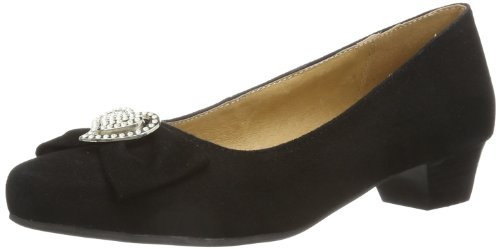 Hirschkogel Door Andrea Conti 3596404 Dames Pumps Zwart (black 002)