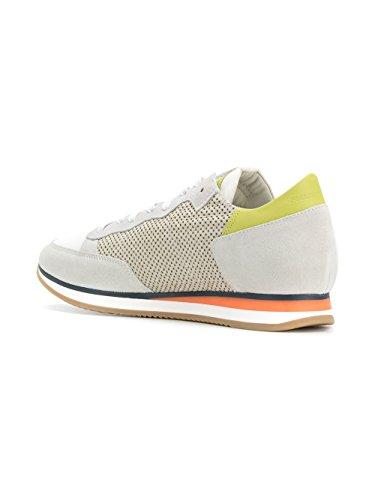 Philippe Model Mannen Trlups49 Witte Lederen Sneakers