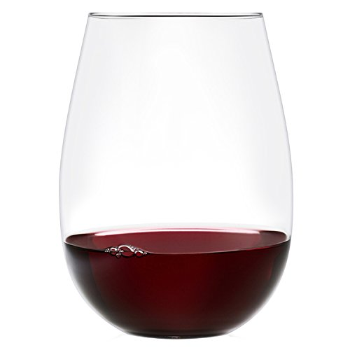Ravenscroft Crystal 18-Ounce Stemless Wine Glass, Set of 8