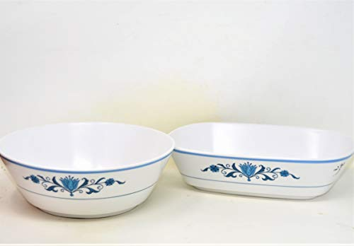 - Noritake Progression BLUE HAVEN Serving Bowl Set