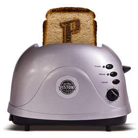 NBA Detroit Pistons Protoast Team Logo Toaster by Pangea Brands