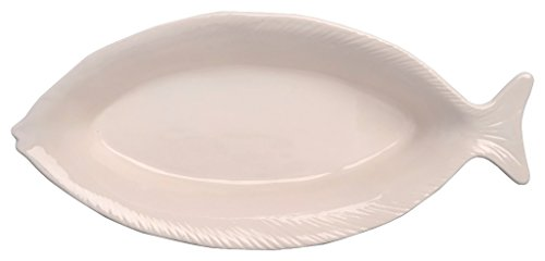 Boston International Lakeside Ceramic Fish Plate, 12.25