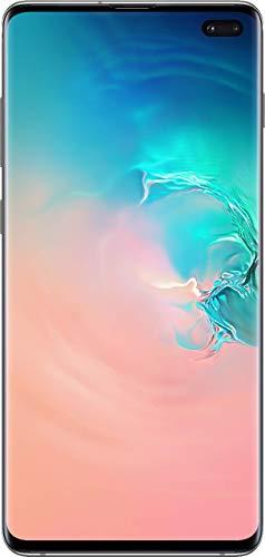Samsung Galaxy Cellphone - S10+ Plus AT&T Factory Unlock (White, 128GB) (Renewed)