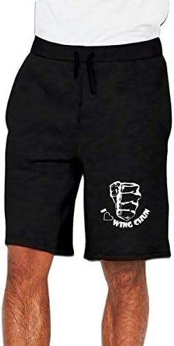 イップ・マン Love Wing Chun ハーフパンツ ショートパンツ フィットネス スポーツ ランニング 吸汗速乾 ズボン カジュアル メンズ
