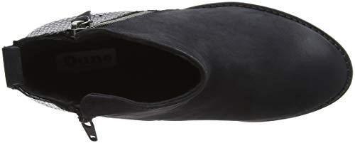 Women's Ankle Black Pontoons Dune Black Boots Black TFx77wd