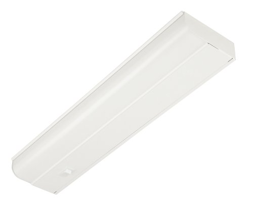 Good Earth Lighting G9318D-T8-WHI 18-Inch Under Cabinet Fixture with Direct Wire, White (Hard Wired Undercabinet Light compare prices)