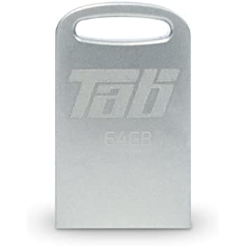 Patriot 64GB Tab Series Micro-Sized USB 3.0 Flash Drive with Up To 140MB/Sec and Metal Housing (PSF64GTAB3USB)