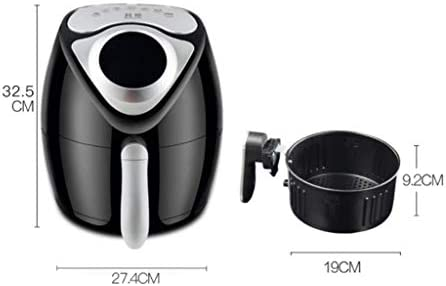 CIGONG Air Fryer 2.6L Home Smart No Frying Frit Divers Aliments Opération Simple Barbecue