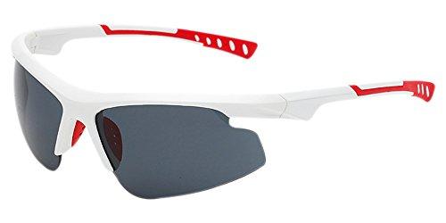 Marco Dintang Gafas Gafas hombres polarizadas sol de Blanco UV400 ligeras para para Gris antideslumbrantes Gafas Gafas profesionales sol no exteriores Lente de rqrfH
