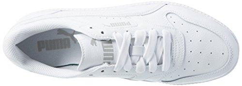 02 Blanco ICRA Hombre L Puma White Zapatillas para Trainer Rzq866w7