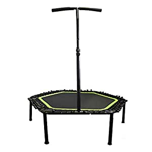 """52"""" Indoor Mini Trampoline - Easy and Fun Home Training Sensational Workout in Europe"""