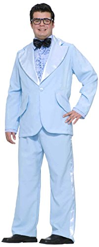 Forum Novelties Men's Plus-Size Flirting with The 50's Prom King, Blue, Plus ()
