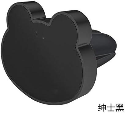 自動車電話ホルダー、エアアウトレットブラケット、新しい多機能磁気カーナビゲーションシートバックル (Color : A)