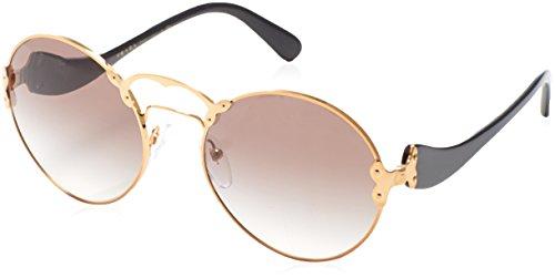 Prada Sunglasses Round - Prada PR 55TS 7OE0A7 Women's Gold