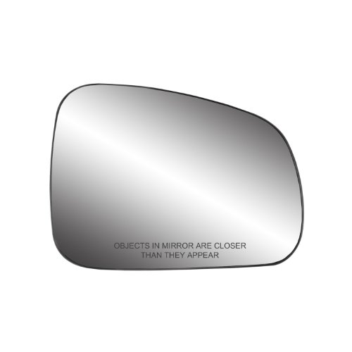 Fit System 80259 Pontiac Grand Prix Right Side Power Replacement Mirror Glass with Backing Plate