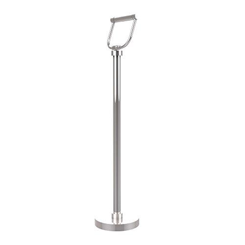 Allied Brass Free Holder Toilet Tissue Stand, 26-Inch, Polished Chrome (Fs Tissue Holder)
