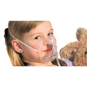 OxyKid Pediatric Mask with 7' Tubing