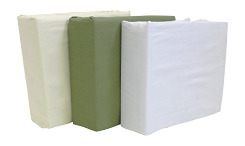 Massage Table Sheet Set 3 Piece Microfiber Machine Washable Includes Fitted Face Cradle Cover - Ivory - Massage Table Sheets