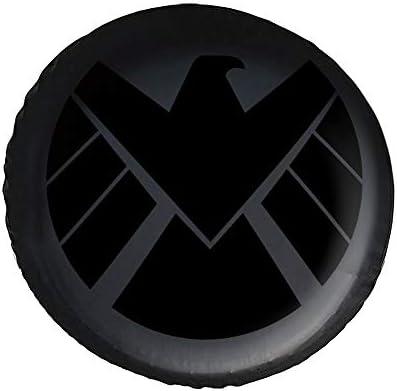 シールドロゴ Shield Logo タイヤカバー タイヤ保管カバー 収納 防水 雨よけカバー 普通車・ミニバン用 防塵 保管 保存 日焼け止め 径83cm