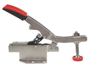 2-3/4'' Opening Straight Handle 700lb Capacity Auto-Adjust Horizontal Toggle Clamp, (Package of 6)
